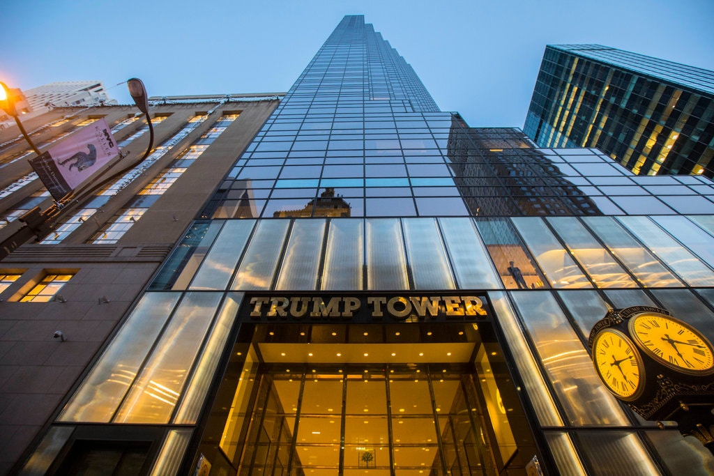 Trump Tower. Fonte: The New York Times - ©Hiroko Masuike