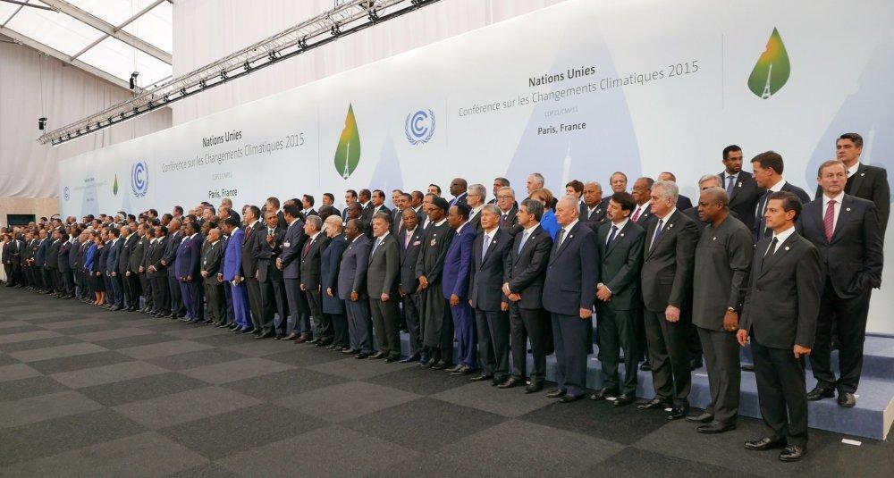 I partecipanti al COP 21 di Parigi
