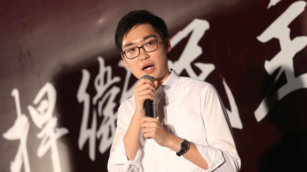 Andy Chan Ho-tin, giovane leader del Partito Nazionalista di Hong-Kong - © K. Y. Cheng (Fonte: South China Morning Post)