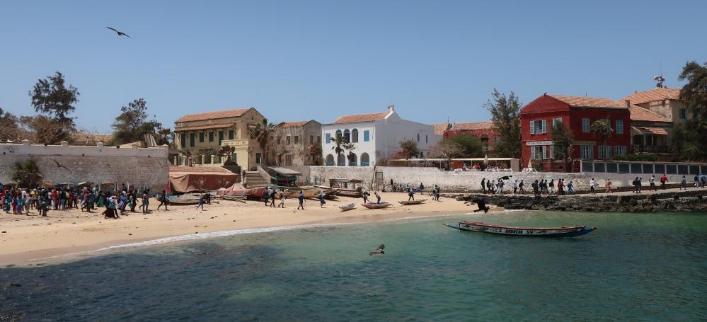 Isola di Gorèe vista dal traghetto
