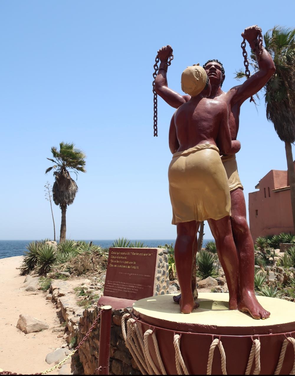Statua Simbolo Gorèe