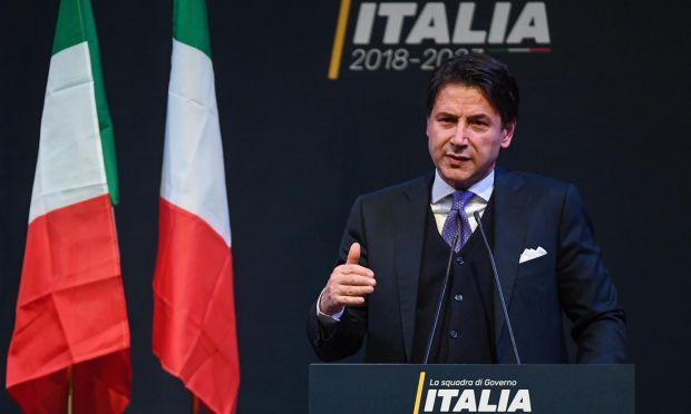 L'attuale Presidente del Consiglio dei Ministri italiano Giuseppe Conte (Fonte: @ Panorama)