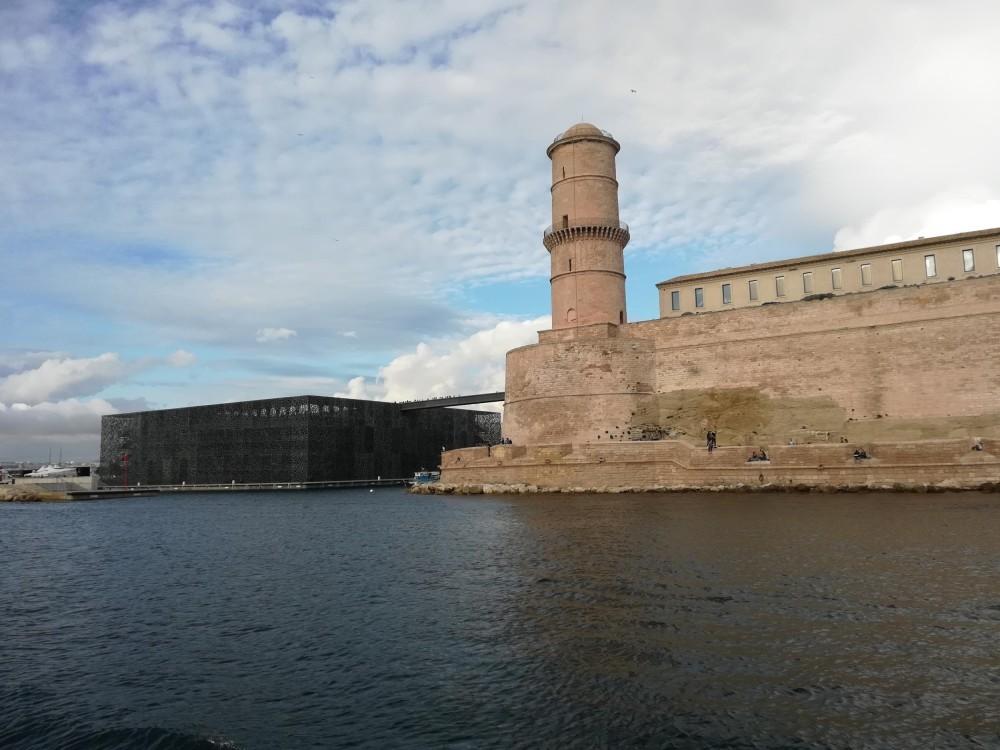 Il Mucem e il Fort Saint Jean. Marsiglia (Ph.: Simona Degiorgi)