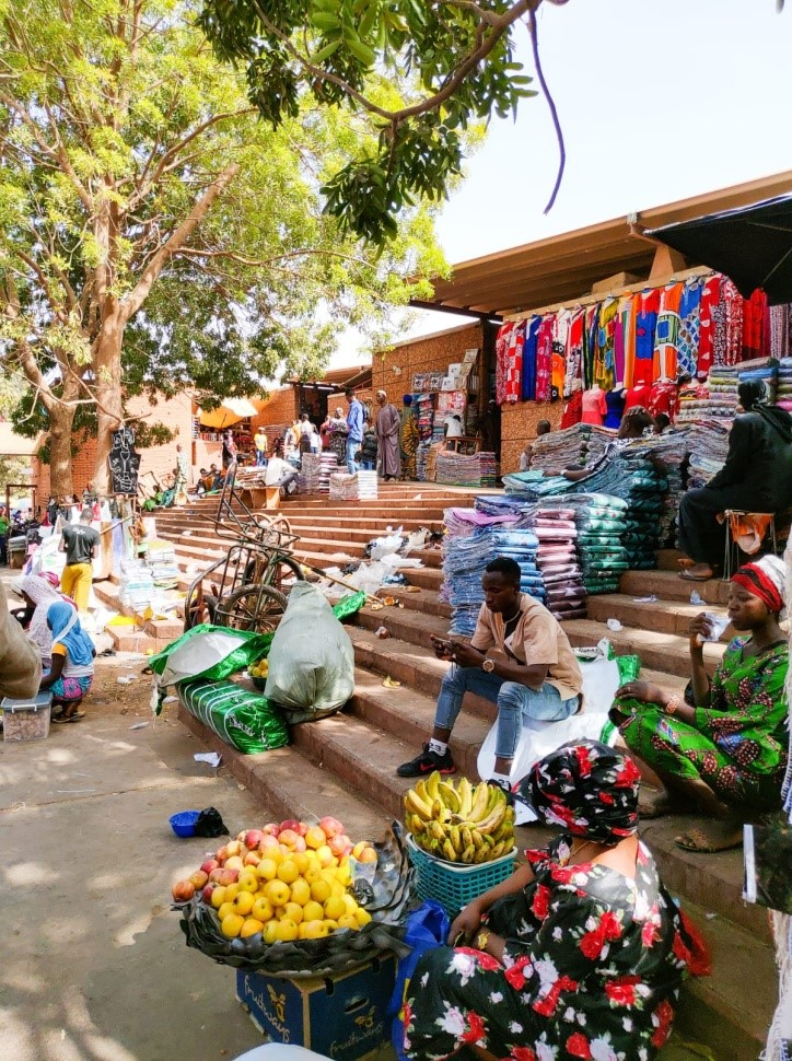 Il Grand Marché di Ouagadougou. (foto di Michele Tallarini)