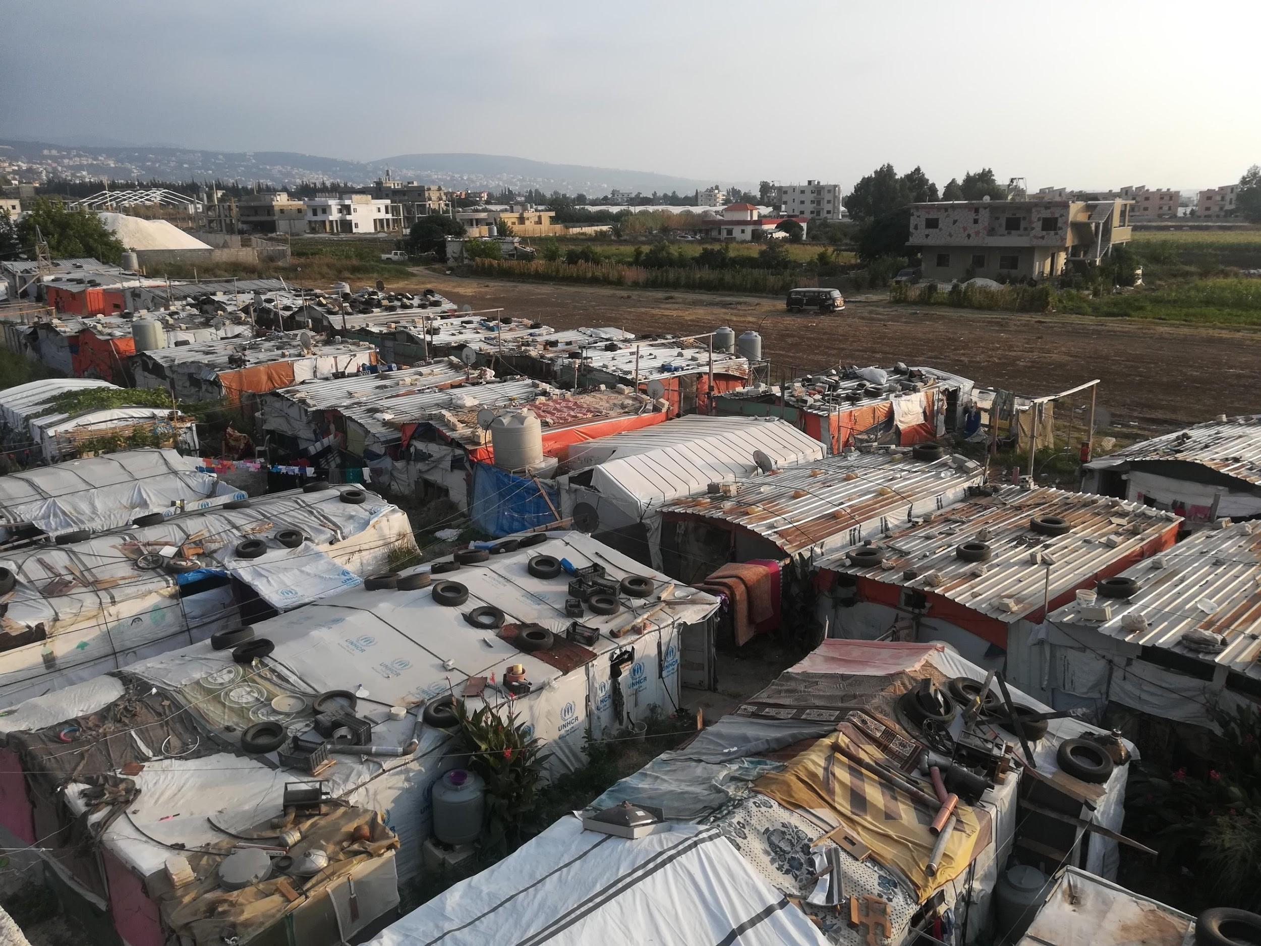Campo profughi siriano di Tel Abbass. Ph. © Simona Degiorgi (Libano, agosto 2018)